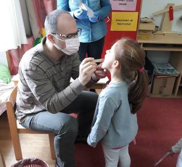 Vrtić Gruž-edukativna radionica o važnosti redovnog pranja zubića